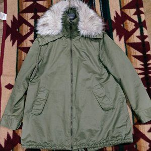 Sam Edelman/women's/Army Green/Coat/with Detachabl